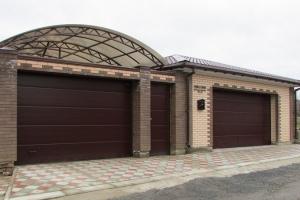 Подъемно-секционные (гаражные) ворота