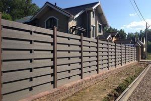 Забор из ДПК (Декинга)
